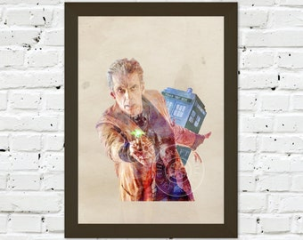 0088 Dr Who Peter Capaldi A3 Wall Art Print Multiple Sizes