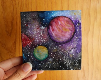 Tiny Watercolor Universe