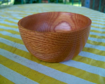 the  cutest little hand made wooden bowl ever