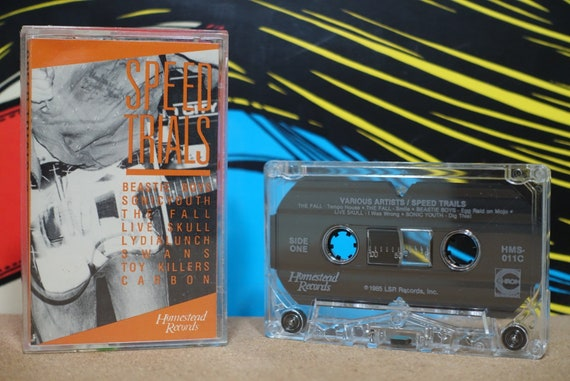 Speed Trials by Various Artists Vintage Cassette Tape