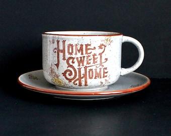 Home Sweet Home Mug and Cookie Plate