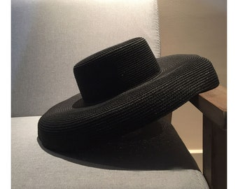 The Straw Extra Wide Brim Sun Hat.