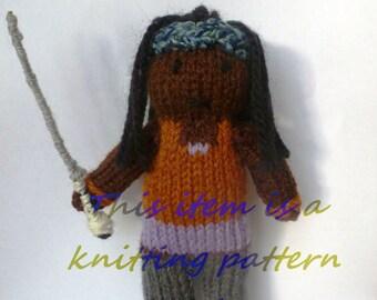 PDF knitting pattern: Michonne (The Walking Dead)