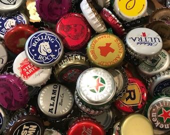 159 metal bottle caps, craft supply