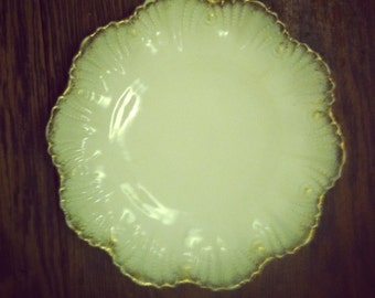 Small White Plate