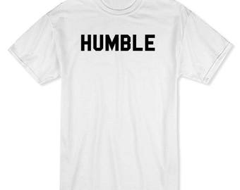 Humble Know Your Place Men's White T-shirt