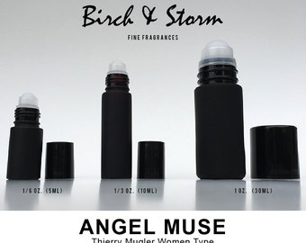 ANGEL MUSE by Thierry MUGLER Women type - 100% Pure Perfume Fragrance Body Oil - Uncut - No Alcohol