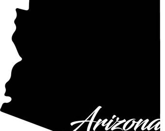Arizona State Decal