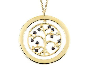 Tree of Life 14k Solid Gold Necklace