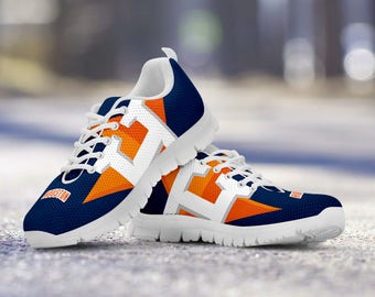 Houston Astros Fan Custom Running Unofficial White Shoes/Sneakers/Trainers - Ladies, Mens, Kids Sizes