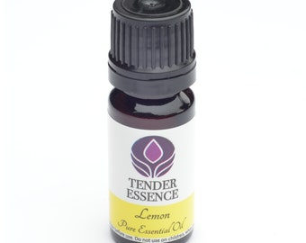 Lemon Essential Oil. Aromatherapy 10ml Bottle.