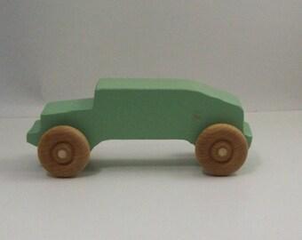 Wooden Toy Humvee
