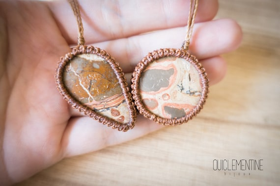 Leopardite necklace