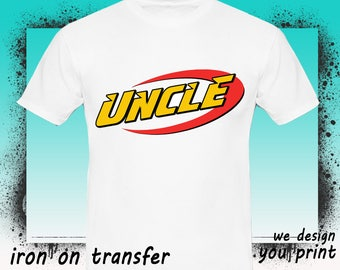 Uncle, Nerf Iron On Transfer, Nerf Birthday Shirt, Nerf Transfer, Nerf Shirt,INSTANT DOWNLOAD, Digital File