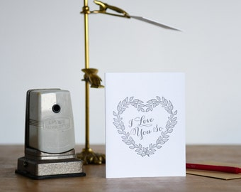 I Love You So Greeting Card