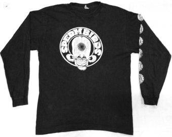 RARE VINTAGE SPERMBIRDS punk rock hardcore tour concert promo t shirt