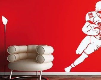 Football Player Wall Decals
