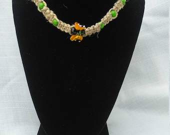 Macrame jewelry, macrame, hemp necklace, hemp jewelry