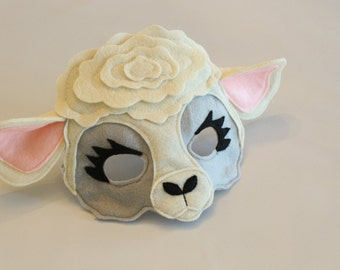 Frick the White Sheep Ewe For Pretend Play