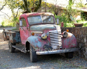 Old Truck Old Friend
