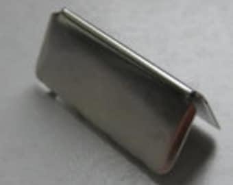 """1.25""""  Belt Tip - 25 Pieces"""