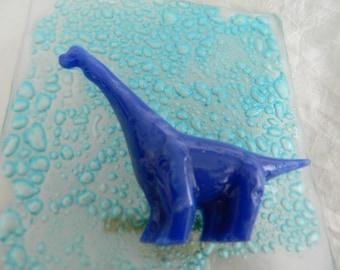 Blue Brontosaurus Dinosaur Nightlight