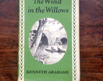 The Wind in The Willows. 1965 Classic Children's Book.