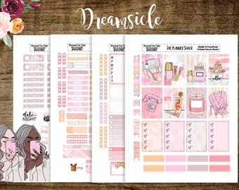 Dreamsicle | Happy Planner | Printable | Printable Stickers | Planner Stickers | Planner Printables | Cut Files | Spring | Summer