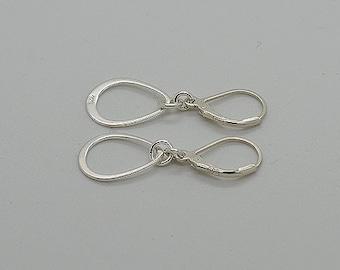 Sterling Silver Lever Back Earrings 01