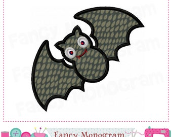 bat appliquebat embroiderybat designhalloween appliquehalloween design halloween - Halloween Bat Pics