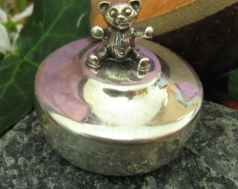 Sterling Silver First Tooth Pot.