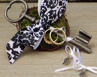Ring Bearer .... Vintage Garden Gate Key