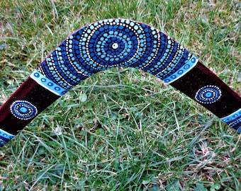 Boomerang barabao for adult size 50 cm range 35 meters