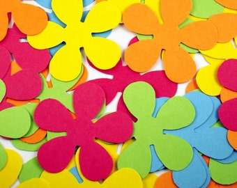 Die Cut Paper Flowers     Retro Flower in  South Beach
