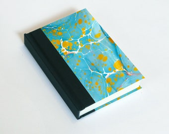 """Sketchbook 4x6"""" with motifs of marbled papers - 20"""