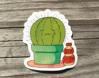 Cactus Sticker Pack: 2-Count
