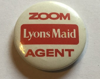Vintage Lyons Maid Badge