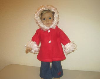 "18"" doll clothes jacket and pants to fit American Girl Dolls"
