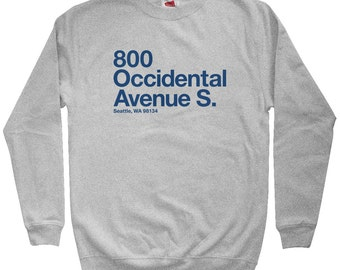 Seattle Football Stadium Sweatshirt - Men S M L XL 2x 3x - Crewneck, Seattle Shirt, Fan, Sports, Gift - 4 Colors