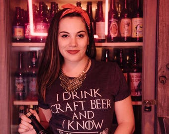 Game of Thrones Inspired Craft Beer Tee