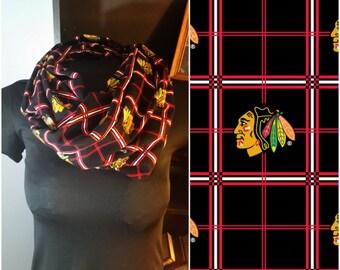 Chicago Blackhawks Infinity Scarf