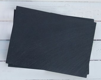 Slate Mats - set of 2 in gift box