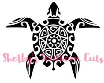 Aztec Turtle SVG file