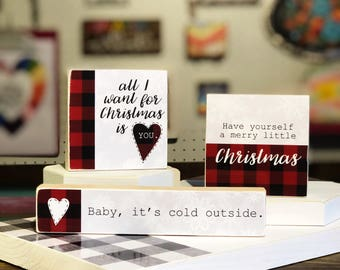 Sale! Selah Signs Christmas Miniblocks