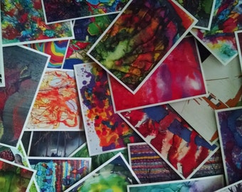 Postcard Art — Set of 25+ Painting Postcards