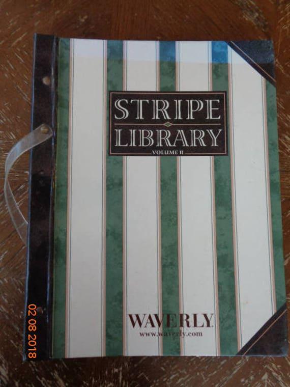 Stripe Library Volume 2 by Waverly