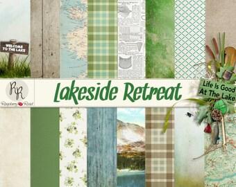Lakeside Retreat Paper Set