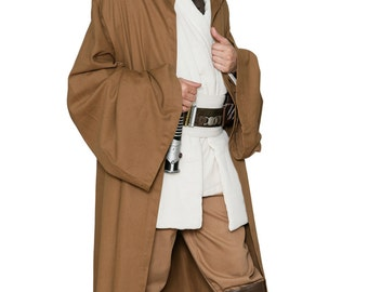 Star Wars Jedi Robe ONLY - Light Brown - Replica Star Wars Costume