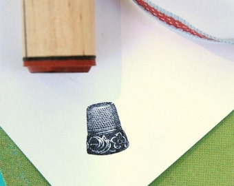 Thimble Rubber Stamp