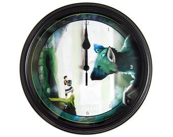 The Last Guardian - Wall Clock - Video Game Decor - Video Game Wall Art -  Gamer Gift - Geek Gift - Video Game Clock - Trico